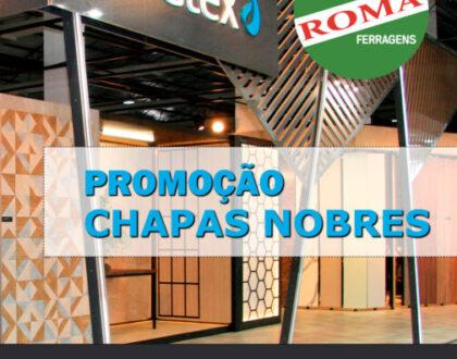 Promoção CHAPAS NOBRES Duratex | Sorteio de Máquinas